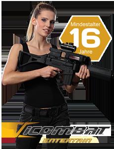 iCombat Entertain Lasertag bei Lasergame Berlin