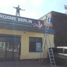 Neue Lasertaghalle Berlin Schöneweide