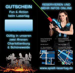 Lasertag Gutschein München