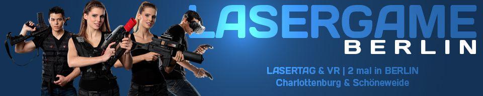 Header Lasergame BErlin LAsertag Arena und Virtual Reality Arcade in Berlin Charlottenburg und Schöneweide